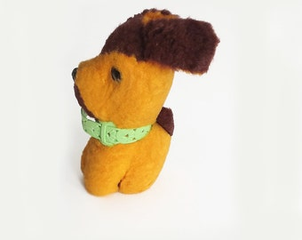 Vintage Soviet Dog Toy, his name is Dmitry.