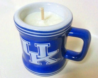 University of Kentucky Mini Mug Soy Candle - CHOICE OF SCENT