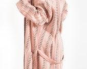 Anatolian pure natural cotton bathrobe for women