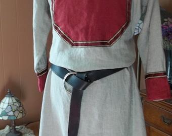 Custom Linen Two-Gore Bocksten Viking Tunic