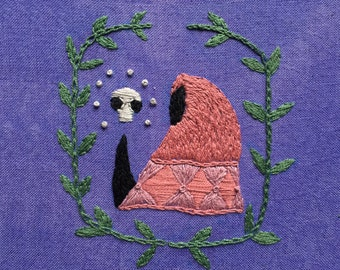 Wizard of Ages Embroidery