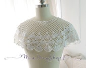 Boho Hippie Romantic Angel White Shell Pattern Crochet Cape Poncho Shawl Blouse Top ,women's fashion Darling beach coverup bolero shrug