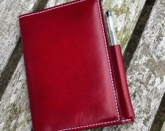 Refillable Leather Notebook A6