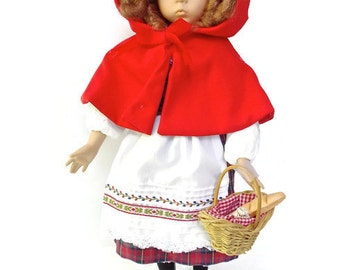 "Little Red Riding Hood Dianna Effner Doll 1988 1st Issue ""Heroines from the Fairy Tale Forests "" by Ashton Drake Galleries"