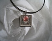 Five Finger Death Punch Leather Necklace Pendant