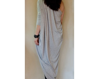 Custom order for hjhonson / Grey Asymmetric Top with two Sleeves