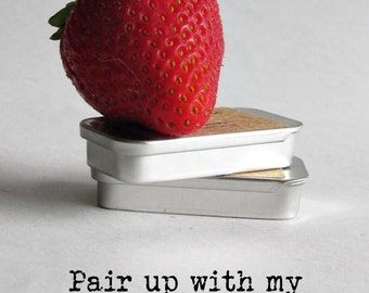 Strawberry Solid Perfume