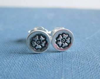 Posey Sterling Silver Stud Earrings