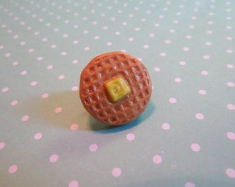 Waffle Pin