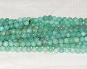 """Australia Chrysoprase  6-6.5mm Round Gemstone Beads - 15.75"""" Strand"""