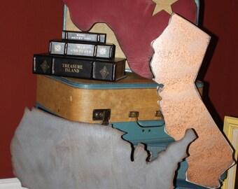 State of Art Vintage Inspired Home Decor... United States California Texas Georgia Washington Massachusets