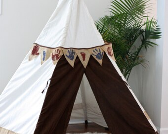 Tee Pee Tent Pattern Instant Download