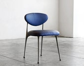 1970s Cast Aluminum Gazelle Chair by Crucible Products Corp., Refinished