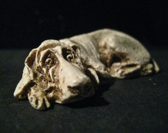 Rare Hound Dog Casting From MEXICO Strictly For DOGLOVERS