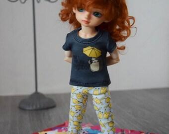 1/6 doll ~ 'Totoro' T-shirt  BJD