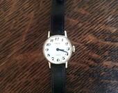 1960s Asprey of London 17 Jewels Swiss Made Gold Plated Ladies Wrist Watch