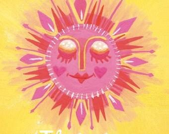Il Sole, Italian Sun. the sunshine series