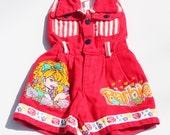 Vintage Barbie Romper Jumper Size 4 Toddler