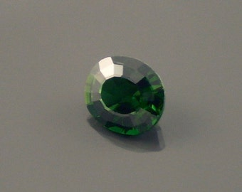 Chrome Tourmaline: 1.23ct Green Oval Shape Gemstone, Natural Hand Made Faceted Gem, Loose Precious Mineral, Cut Crystal Jewelry Supply 20204