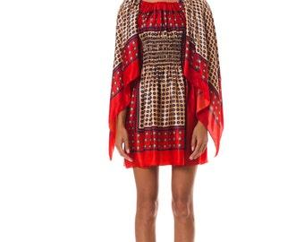 1970s Scarf dress   Size: XS