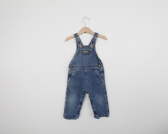 Vintage OshKosh Overall Dungarees 18 months