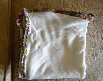 Worlds Softest Organic Cotton and Bamboo Car Seat/Stroller/Swaddle Blanket