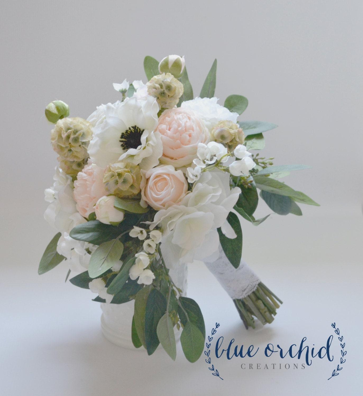 Blush Wedding Flowers: Wedding Bouquet Silk Bouquet Silk Flower Bouquet Silk