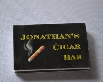 50 Custom Designed Matchbox Wedding Favors - Jonathan's Cigar Bar