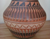Navajo Pottery Signed by Native American Bernice Watchman Exceptional