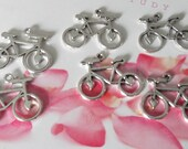 6 Pieces Bicyle Jewelry Charm for Charm Bracelets, Jewelry Making, Jewelry Supplies, Beading Supplies - C20915