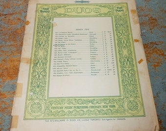 """Vintage Music Sheet, """"Invitation To The Dance"""", Piano, 1902, Old, Music Score, Sheet Music, Op. 65"""