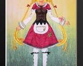 Polka from Eternal Sonata Articulated Paper Doll, Printable PDF, You Color