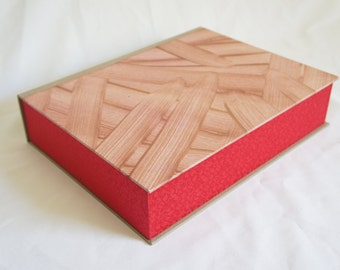 ClamShell Box (Drop Spine Box) - Box for Prints, Photos, Special belongings of any kinds