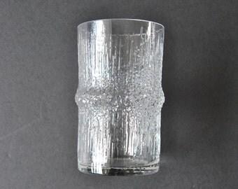 iittala Niva Vase Tapio Wirkkala Clear Glass