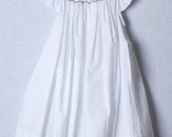412400 -BB067- Baby Girl Clothes - Beach Outfit - Beach Clothing - White Beach Portrait Dress - Beach Portrait Clothing - Portrait Dress