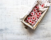 6 colors wedding favors wooden heart magnets budget guest favors bridal shower baby shower red off white wedding red hearts rustic