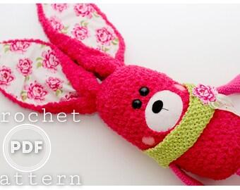 Bunny Crochet Pattern- Priscilla the Bunny  PDF
