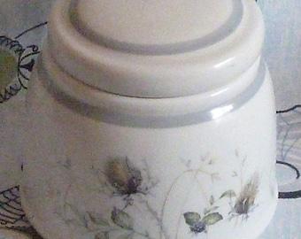 Pretty Royal Albert Wild Briar lidded sugar bowl 1960's - 70's Vintage