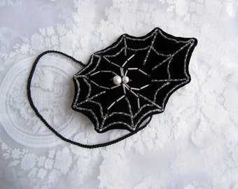 Spiderweb headpiece - Black