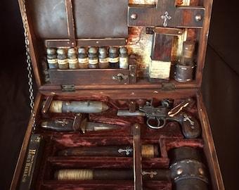 19th Century Traveling Vampire Killer's Kit.