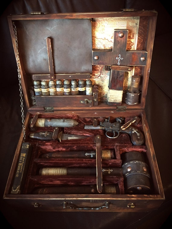 19th Century Traveling Vampire Killer S Kit