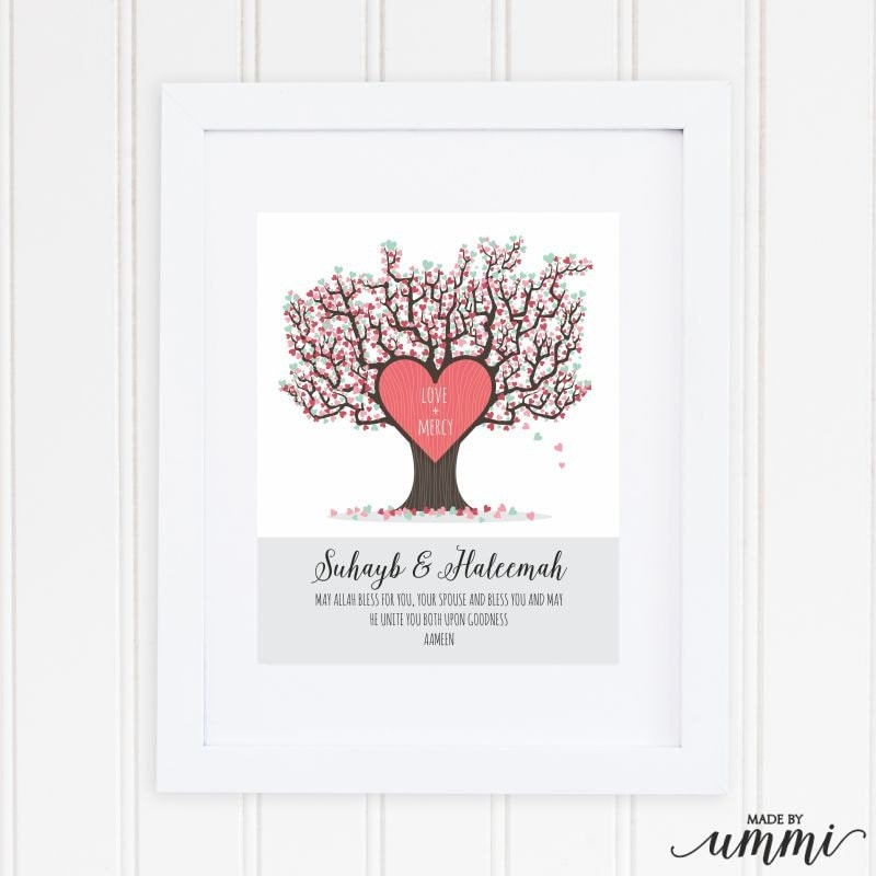 Wedding Gifts With Quotes : Islamic wedding gift Islamic wedding quote personalised