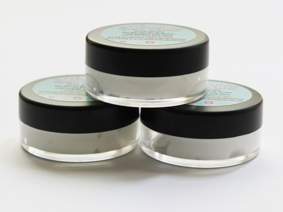 3- 20 ML body butter samples includes the three scents