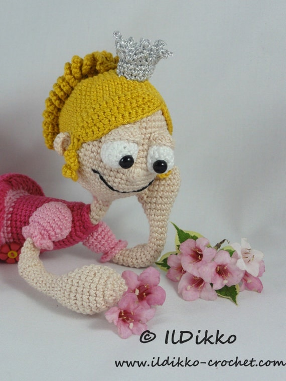 Amigurumi Wire Skeleton : Amigurumi Crochet Pattern - Princess Rosaline from IlDikko ...