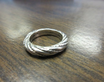 Sterling Silver Band Ring sz 5