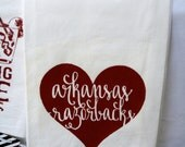 Love My Hogs Kitchen Towel