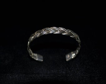 Silver Plaited Bracelet