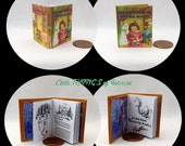 LITTLE HOUSE In The Big WOODS 1:6 Scale Readable Illustrated Book - Blythe - Momoko - Pullip - Barbie Scale