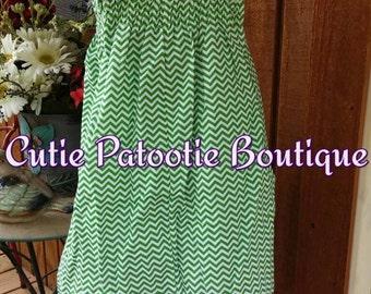 Green Lace Sundress