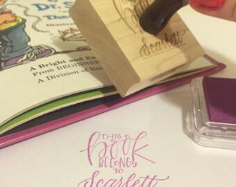 Custom Book Stamp